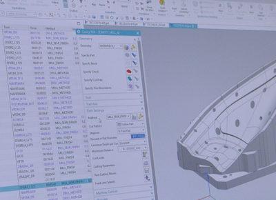 CAD/CAM programovanie